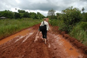 Pumping in Paraguay: I want to work close to the farm, too!