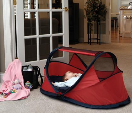Warning: Infant Suffocation in Peapod Travel Portable Bed