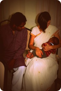 breastfeeding in a sari