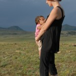 Breastfeeding Veda (11 months) on a Hike in South Africa While 3 Months Pregnant